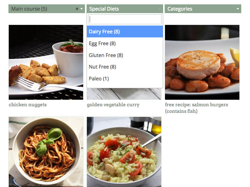 Search Recipes - Pure Family Food