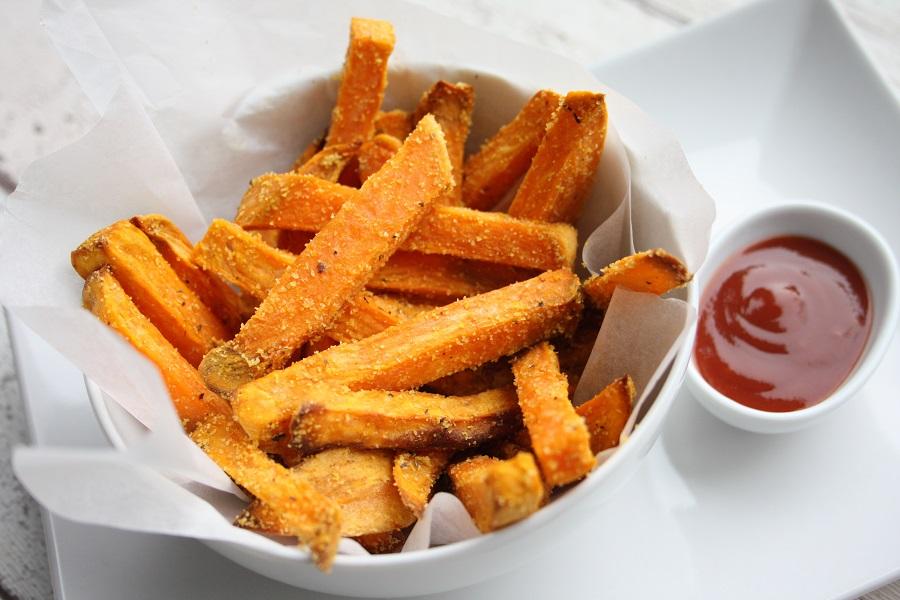 sweet potato polenta fries