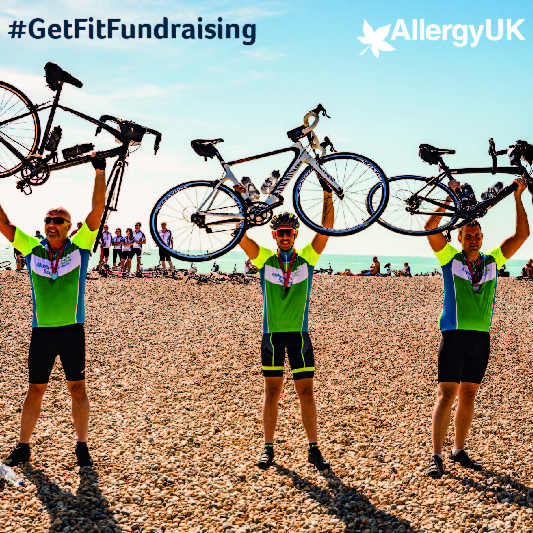 Can you #getfitfundraising for Allergy UK?