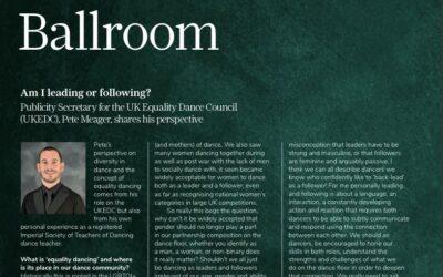 ISTD – Dance Magazine: Diversity & Inclusion