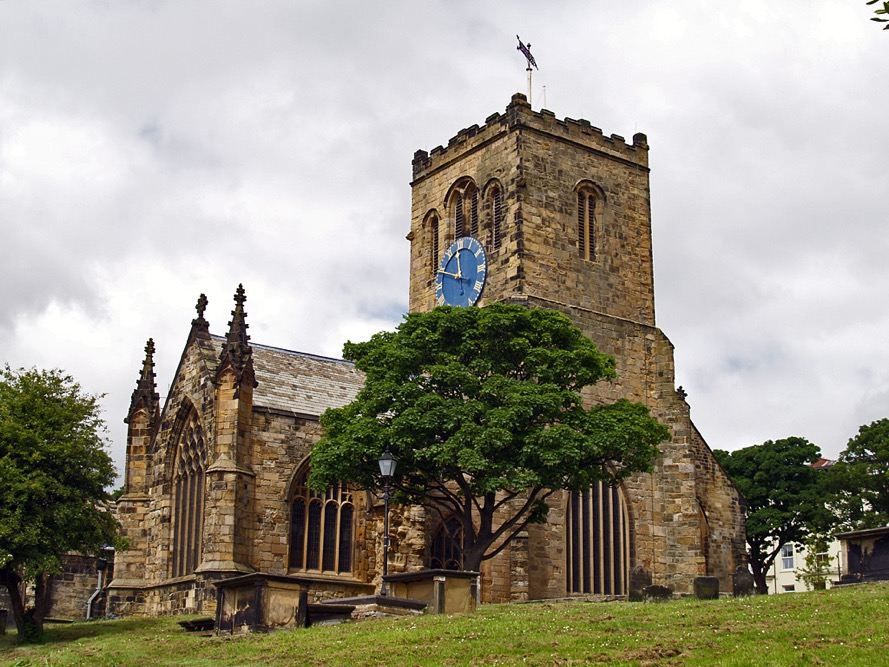 St Mary's Church & Anne Bronte's Grave