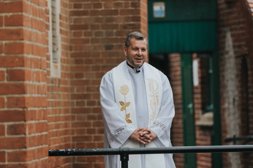 Father Mrcin Drabik