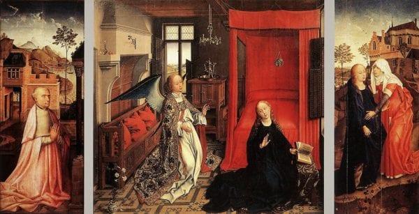 1440_rogier van Der Weyden_c.1440_Louvre_ctr_Turin_Galleria Sabauda_wings