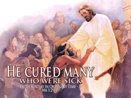 Jesus Cures Many