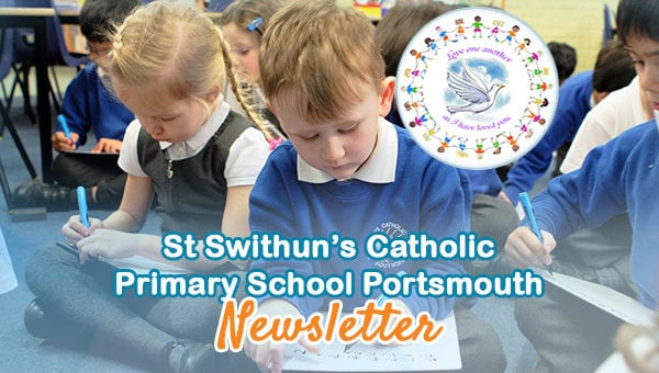 Places available at St Swithun's Catholic Primary School Sep 2020