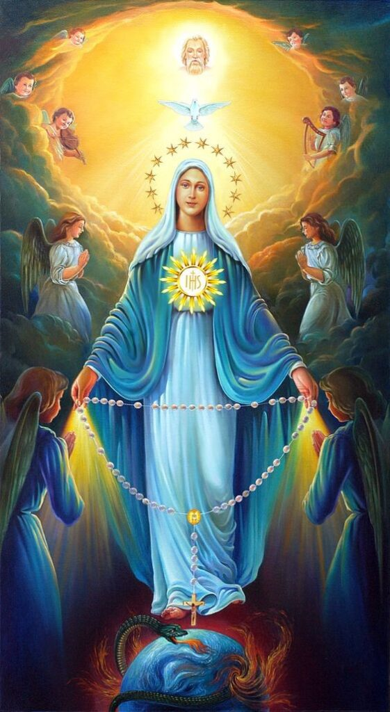 Parish Devotion for Tuesday 27th October 2020 – Month of The Holy Rosary –  Tuesdays