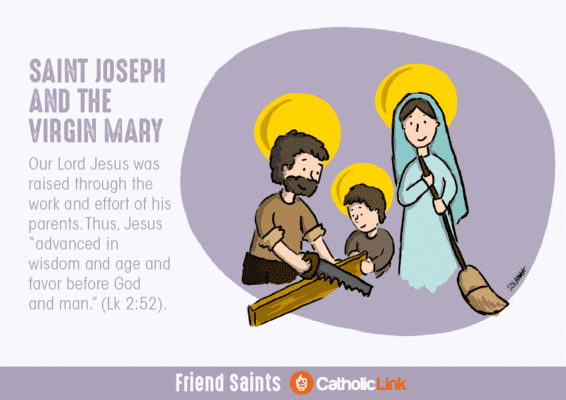 Blessed Mary and Joseph