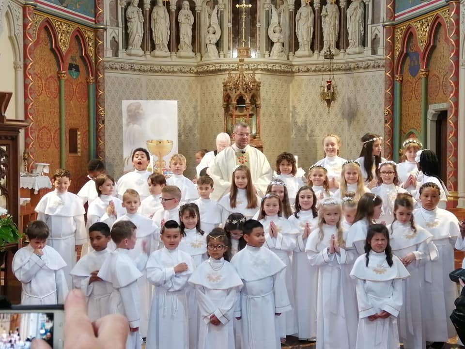 Timetable for First Communion Children – Measurement of Robes