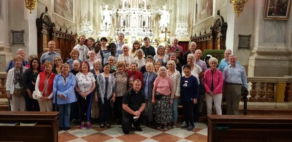 Thanksgiving for Our Pilgrimage to Italy in September 2019