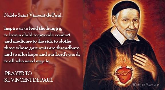 New Group - The St Vincent de Paul Society  - 21-10-2019