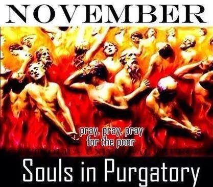 November Is Devoted To The Souls In Purgatory