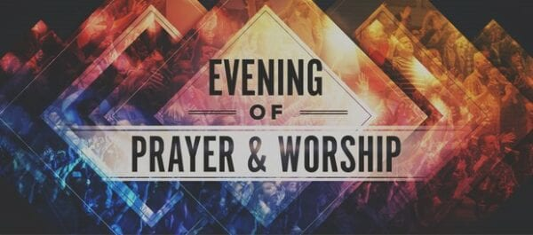 Worship Together Programme - Healing and Prayer Ministry