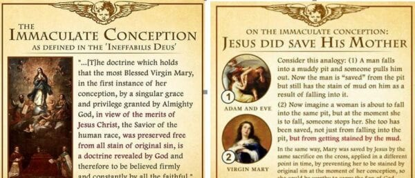 Next Monday 9th December is the Solemnity of the Immaculate Conception