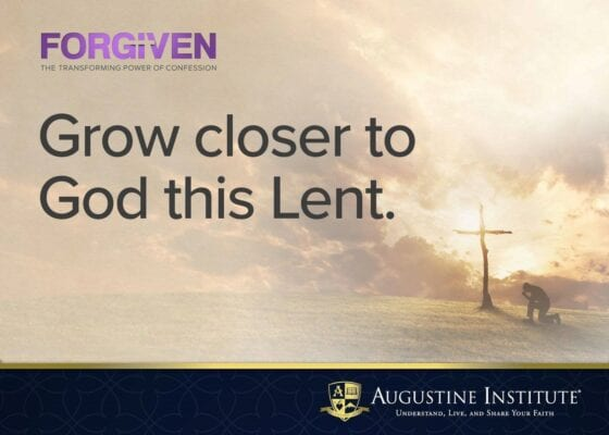 FORGIVEN: The Transforming Power of Confession - A Course for Lent 2020
