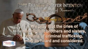 Pope's prayer intention for February: Listen to the migrants' cries