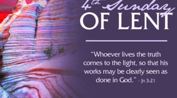 Newsletter: 22nd March 2020 - 4th Sunday of Lent Year A