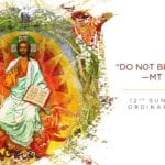 Newsletter: 21st June 2020 - 12th Sunday in Ordinary Time