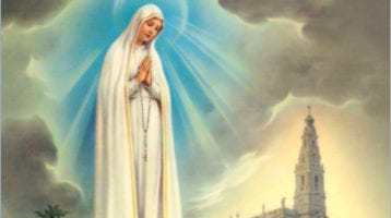 After each decade the Fatima Prayer may also be said (Pope Pius XII):
