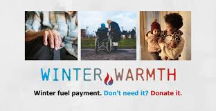 "Appeal - Would you help and ""Donate your Winter Fuel Allowance"" to our most needy."