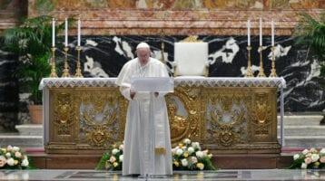 Pope Francis' Easter 'Urbi et Orbi' Message 2021
