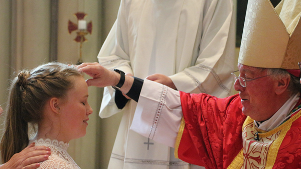 Bishop Philip Message - The Sacrament of Confirmation May 23rd 2021