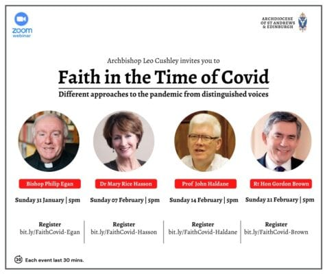 Bishop Philip Zoom Event : Register now for Faith in the Time of Covid