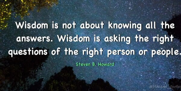 Fr. Mike Schmitz Answers – WISDOM IN NOT KNOWING ALL OF THE ANSWERS