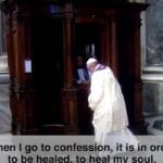 Pope Francis Prayer Intentions March 2021 - Sacrament of Reconciliation