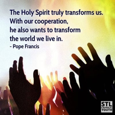 Holy Spirit Pope Francis