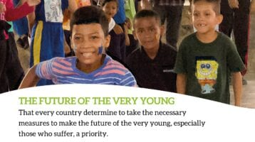 Pope Francis Prayer for The Very Young