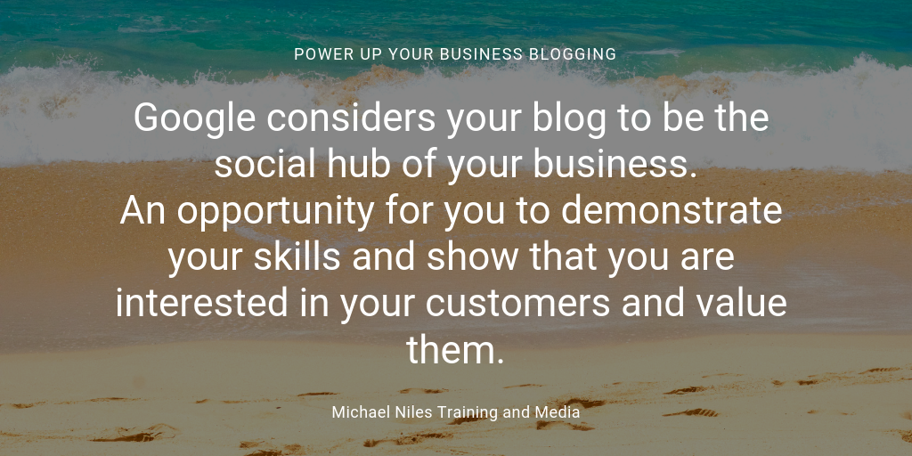 Blogging make you the expert your customer deserves