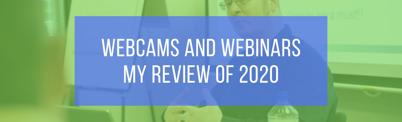webcams and Webinars