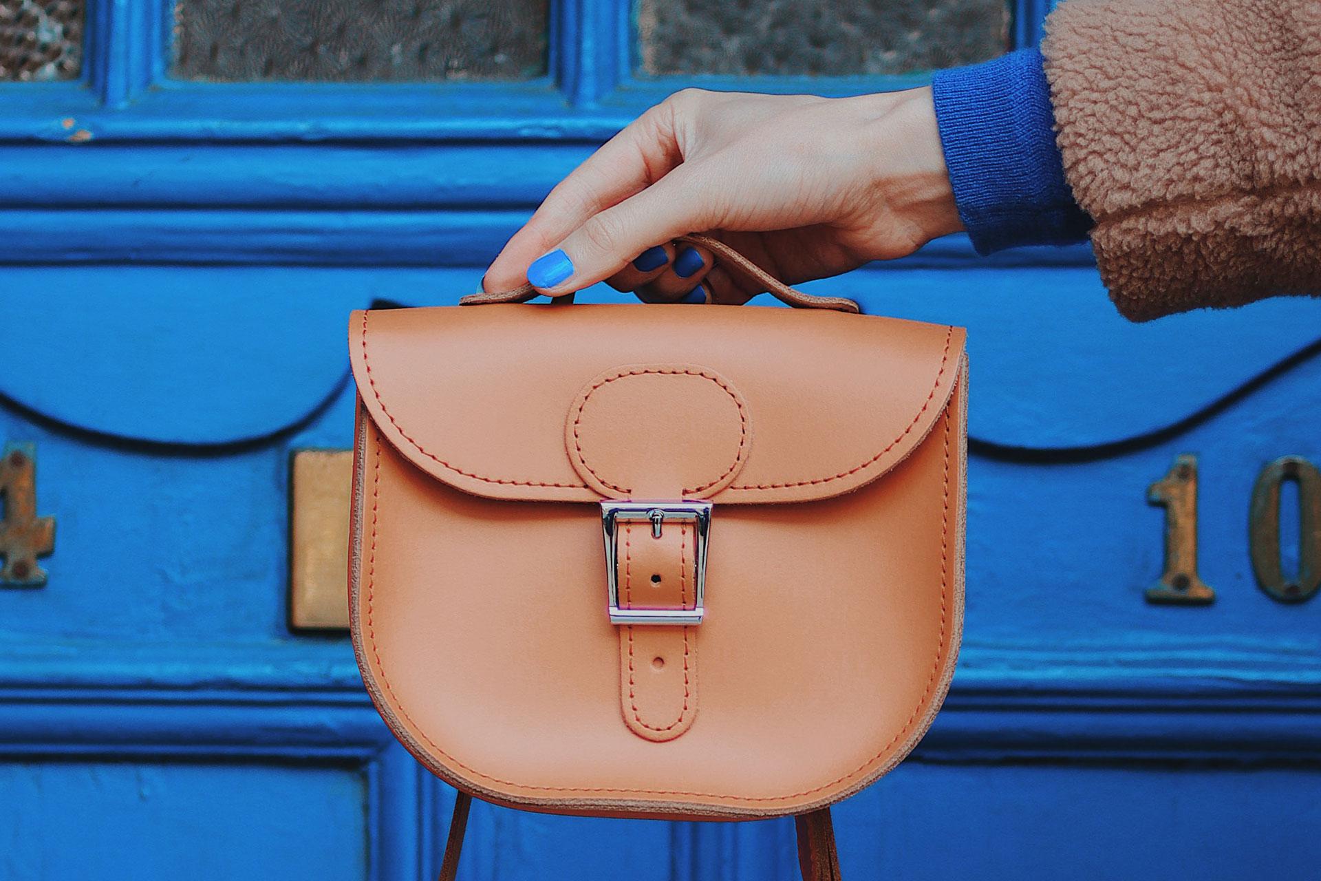 HALF PINT SMALL SATCHEL BAG £75.00, £82.50 Personalised FREE BAG CHARM!
