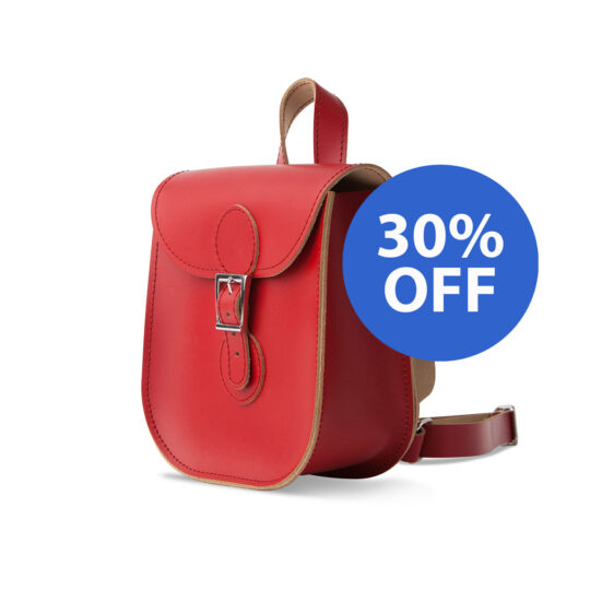 SALE Leather Backpack