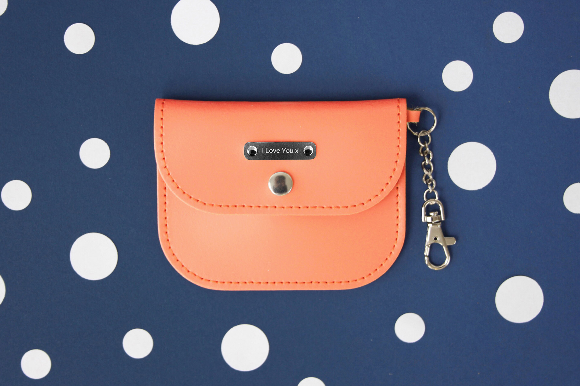 COIN PURSE £23.00, £37.50 Personalised