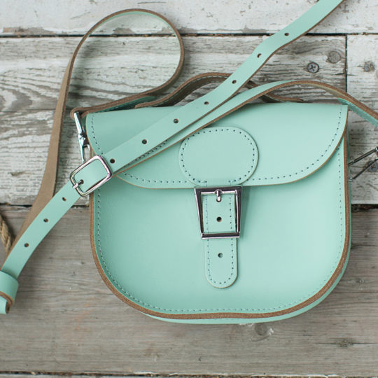 Brit-Stitch Half Pint Small Satchel Bag