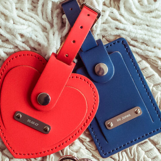 Heart Luggage Tag