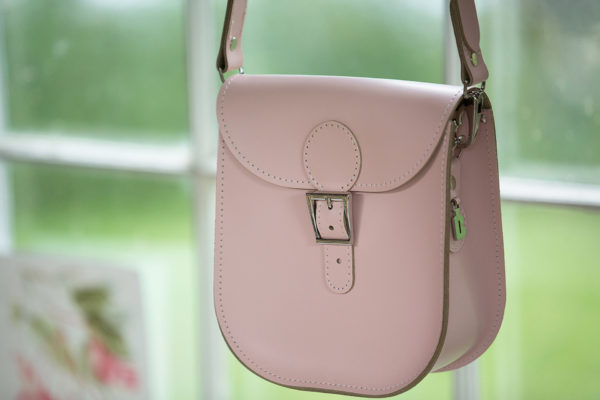 Brit-Stitch Milkman Medium Satchel Bag