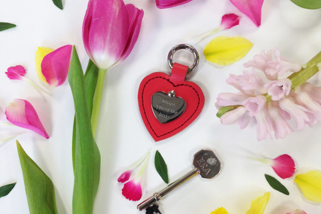 The Heart Keyring