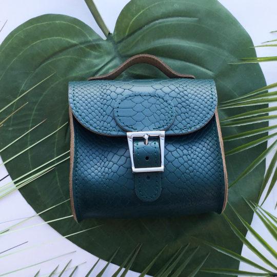 Brit-Stitch Brit-Luxe Micro Mini Cross Body Bag