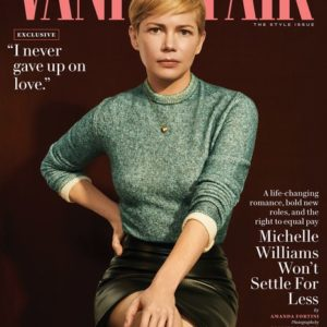 As Seen In … Vanity Fair Sept 18