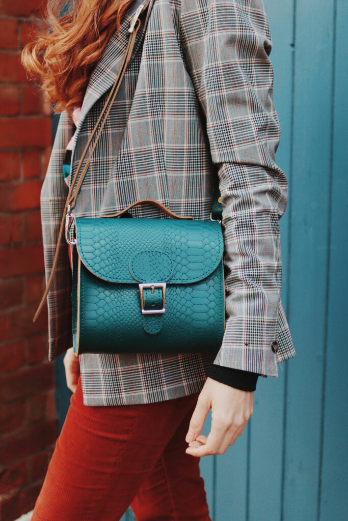 Brit-Luxe Shoulder Bag, Forest Green