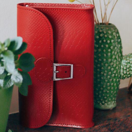 Brit-Luxe Clutch Bag
