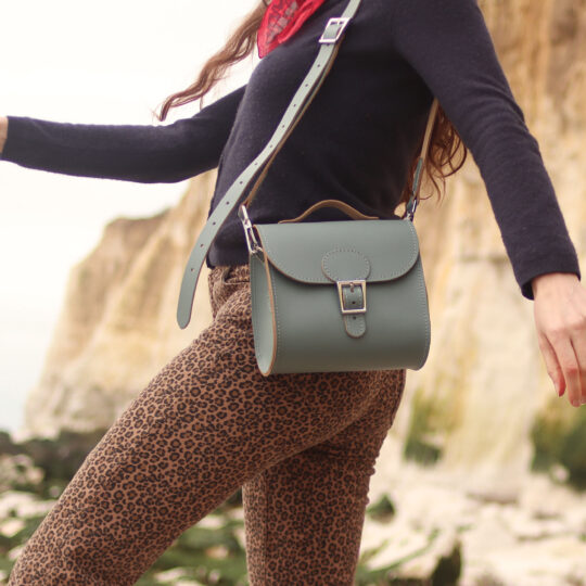 Brit-Luxe Shoulder Bag Stormy Sea