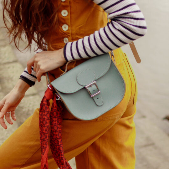 Half Pint Small Satchel Bag - Stormy Sea