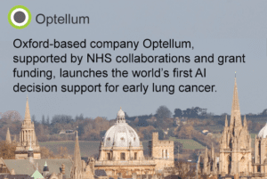 PRESS RELEASE: UK health tech company, goes global with breakthrough in early lung cancer diagnosis AI technology