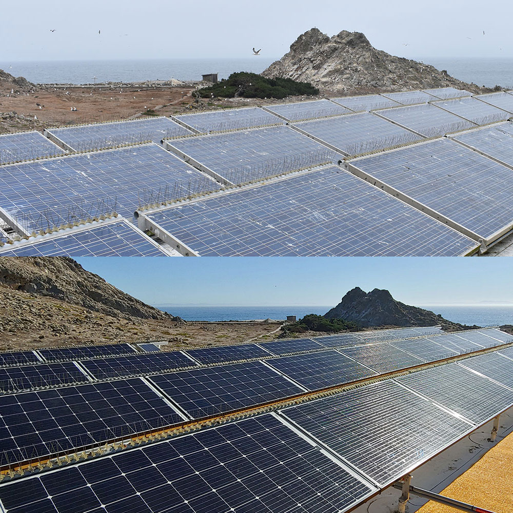 Farallon Islands Off Grid Solar Power System by Industrial Solar Consulting