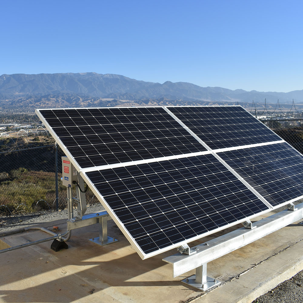 Off grid solar power for the Federal Aviation Administration by ISC