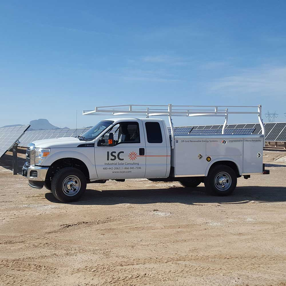 FLUOR solar maintenance by Industrial Solar Consulting (ISC)