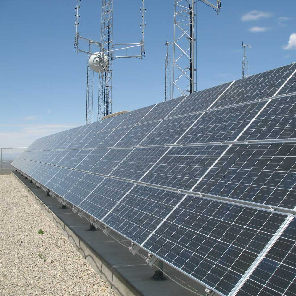 Fort Bliss renewable energy system by Industrial Solar Consulting